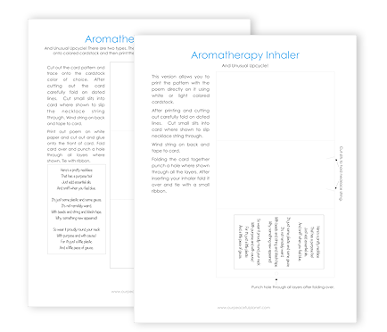 Aromatherapy Inhaler - Gift Card 16