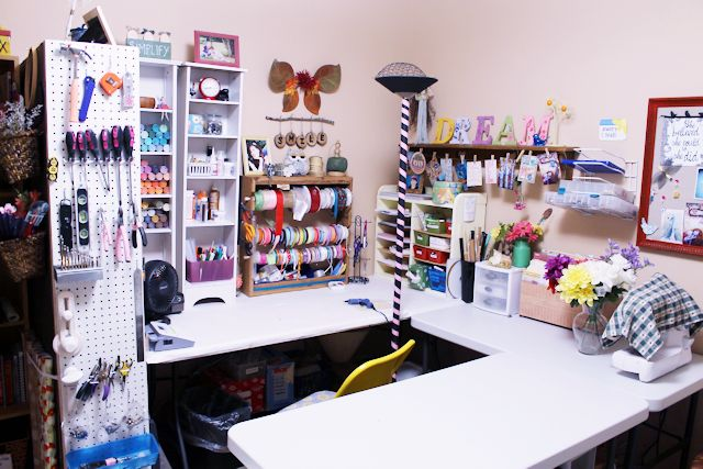 craft room ideas the most creative craft room organization ideas 12250