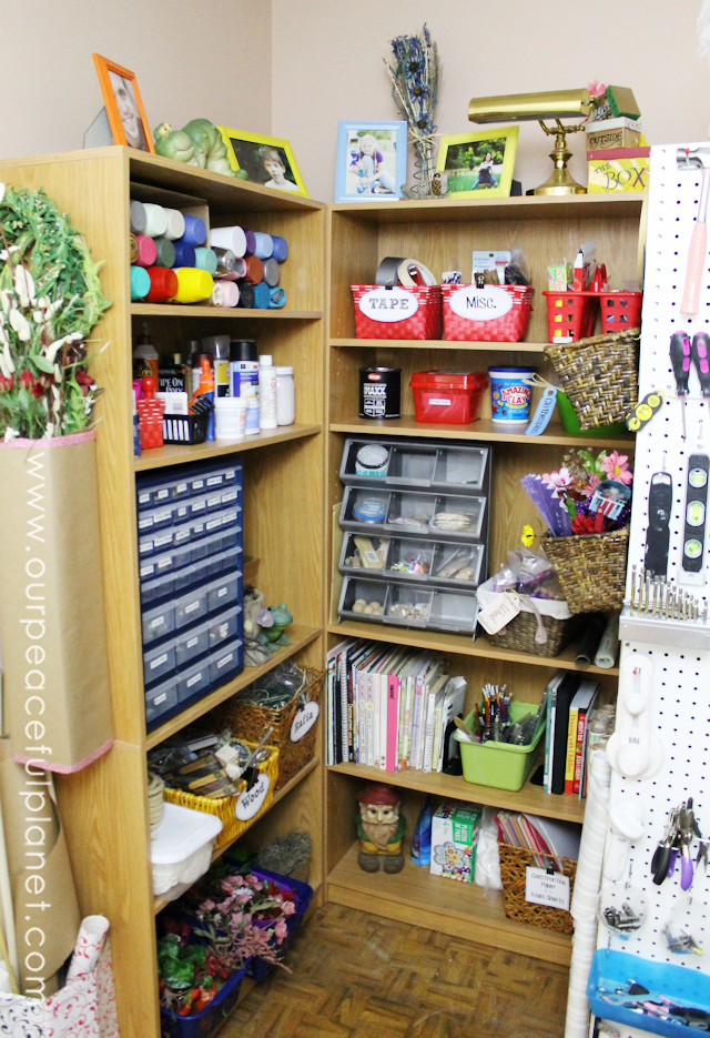 The Most Creative Craft Room Organization Ideas