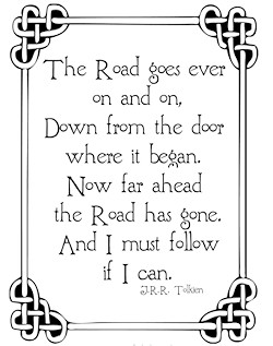 The Road Goes Ever On J R R Tolkien Quotes