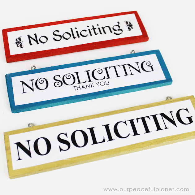 picture relating to Printable No Soliciting Signs named Do-it-yourself Wooden Placing No Soliciting Indicators (Cost-free Printables)