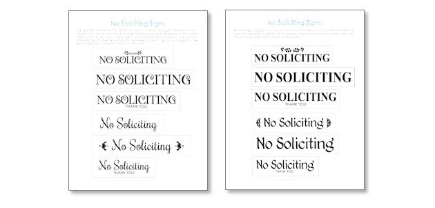 graphic about Printable No Soliciting Sign named Do it yourself Picket Putting No Soliciting Signs and symptoms (Totally free Printables)