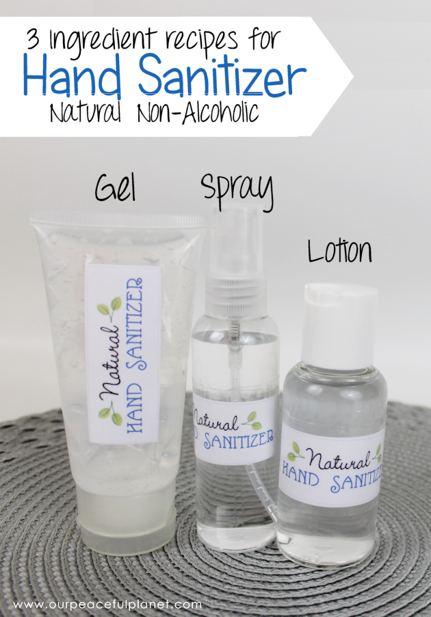 Natural Diy Hand Sanitizer 3