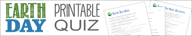 Free Earth Day Printable Quiz