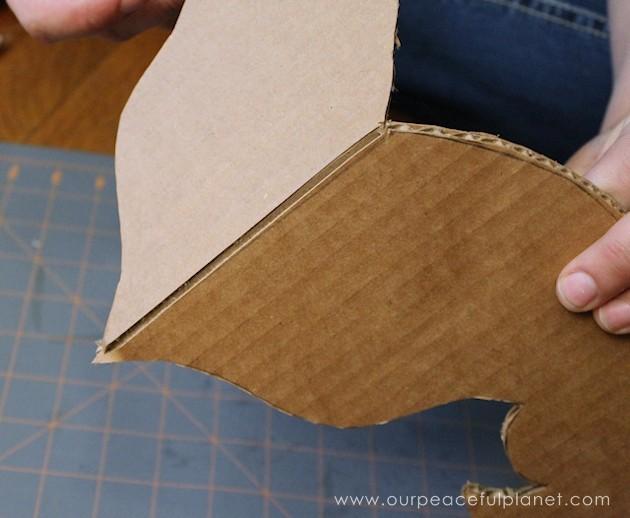 Make A Foam Board Or Cardboard Chandelier Free Pattern