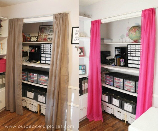 Organized office closet Diy We Turned Messy Home Office Closet Into Beautiful Fun And Organized Place To Blank630x20 Julie Lauren Messy To Marvelous Closet Makeover For Home Office