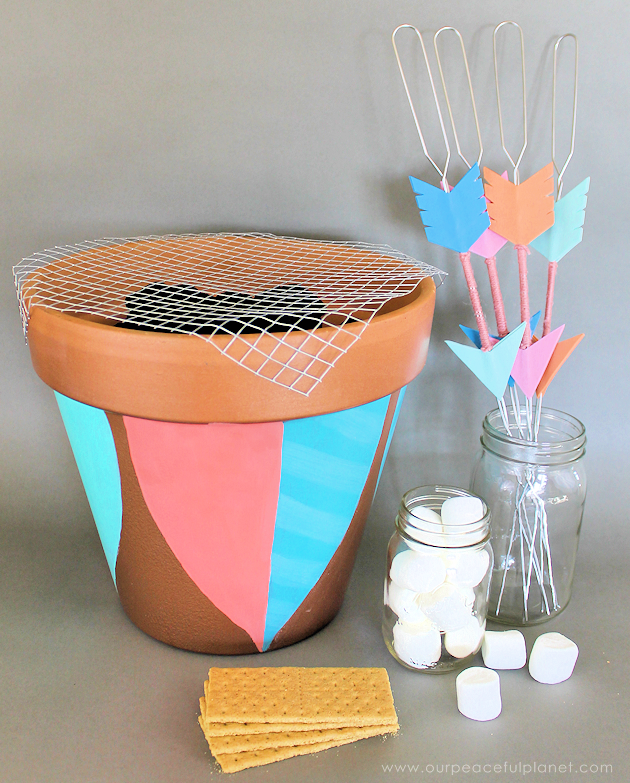 Whimsical Woodland Portable Grill 39