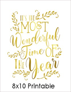It's the most wonderful time of the year quote