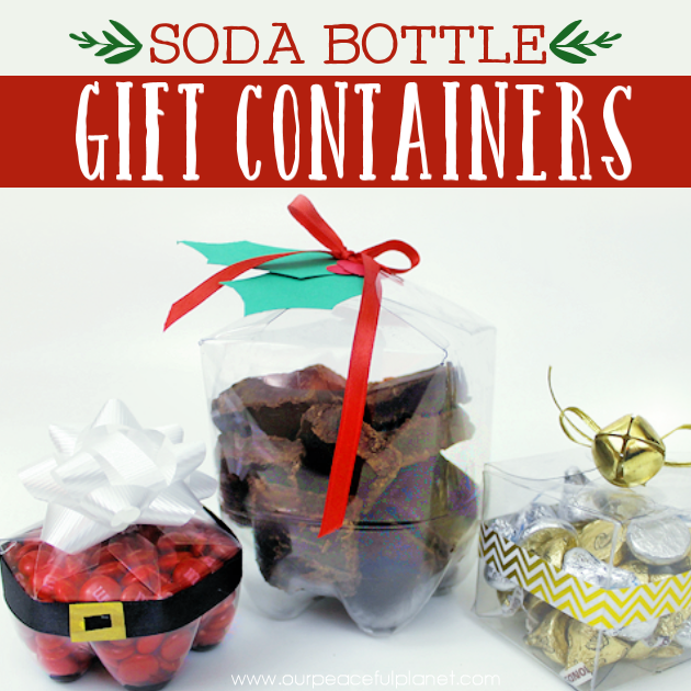 Christmas Gift Wrapping Ideas Using Soda Bottles ·