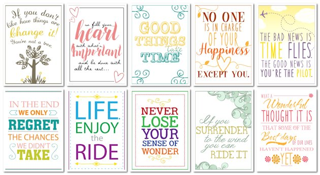 graphic about Printable Motivational Quotes known as Order Encouraged with 10 No cost Motivational Prices Cly