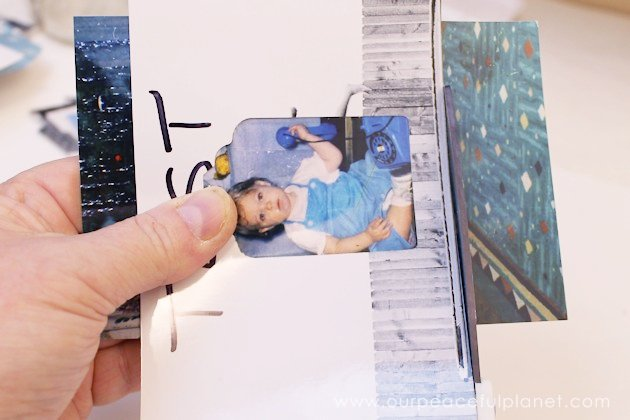 These personalized gift tags will be a huge hit and you won't have to put names on your presents. Kids can make them. Have more fun and use baby photos!