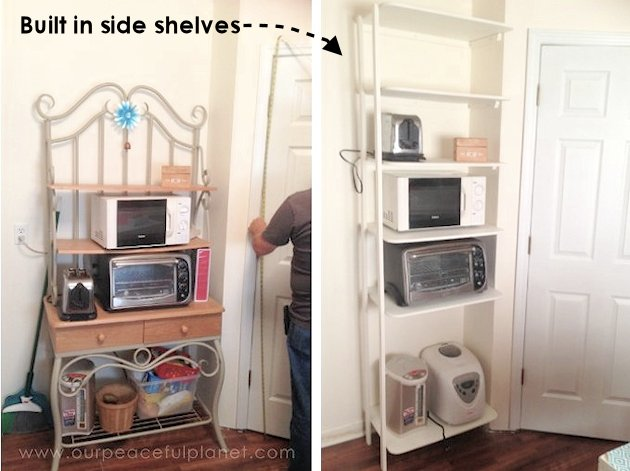 Add Space And Convenience To Your Small Kitchen With This Simple DIY Pantry!  It Has