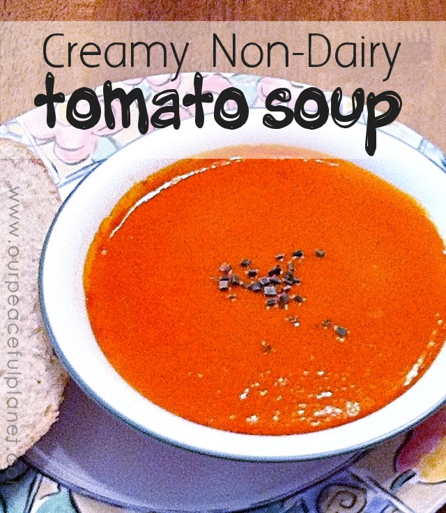Creamy Non Dairy Tomato Soup