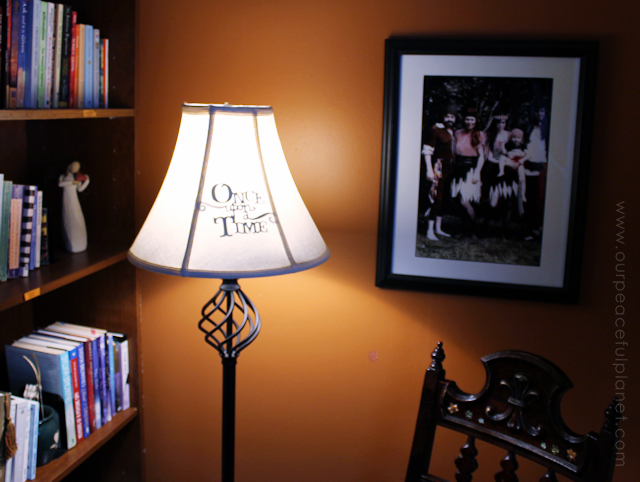 Make a Library Nook Lamp