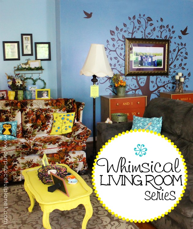 Whimsical Living Room Series