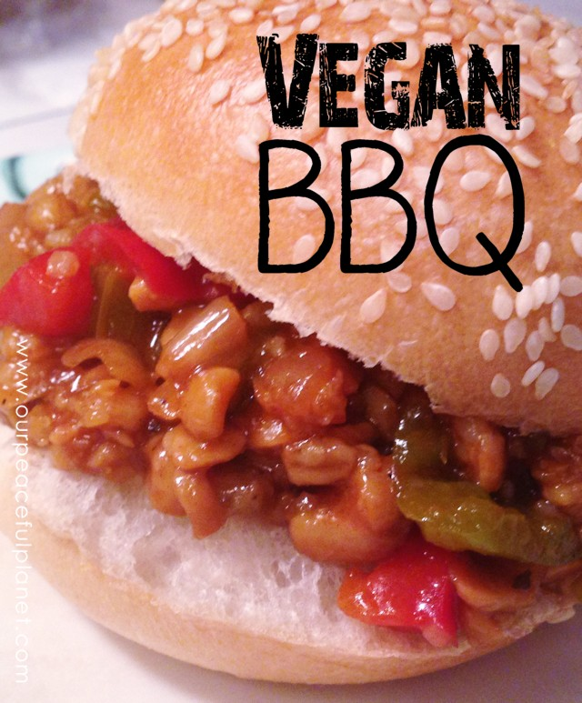 Vegan BBQ Sandwiche