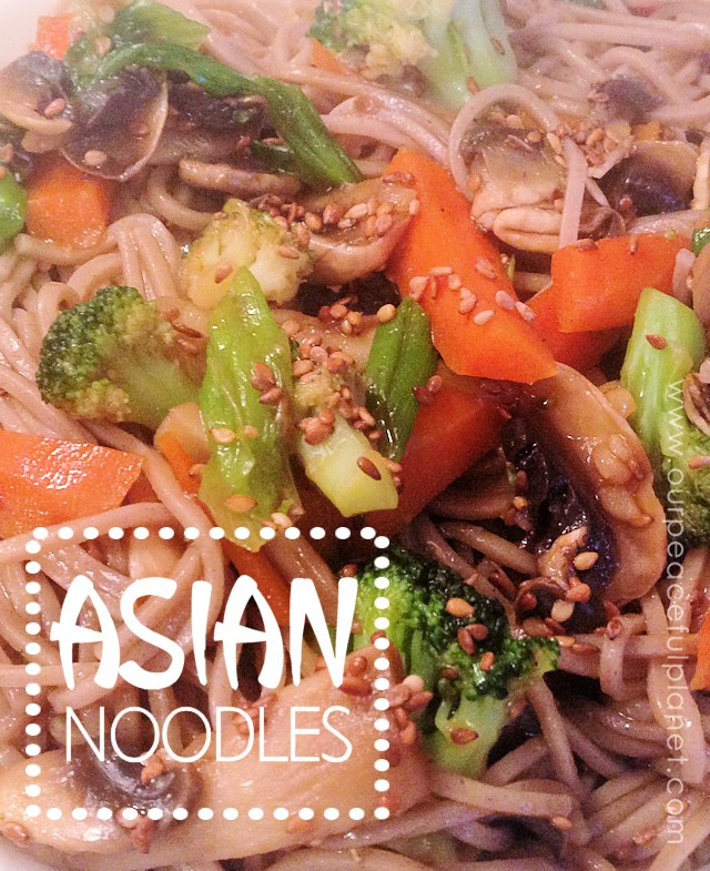 Asian Noodles B