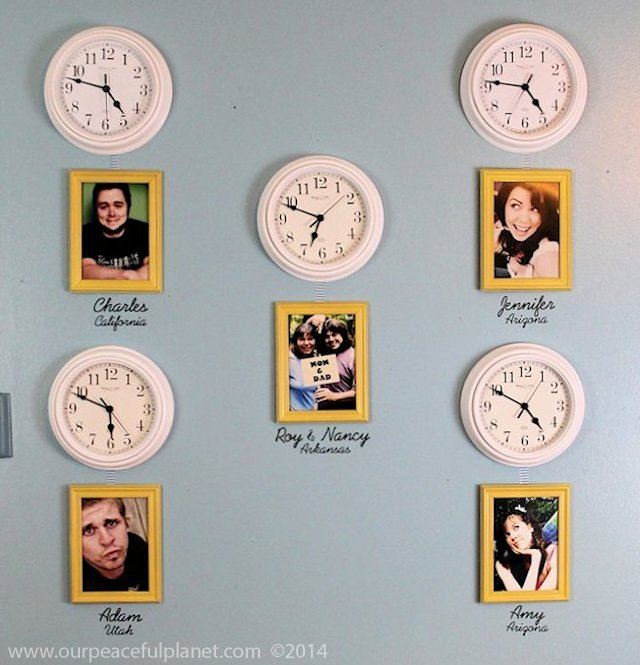 Family Time Zone Wall a1