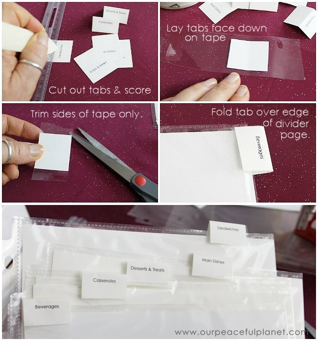 Quick & Easy Recipe Binder (With Printables