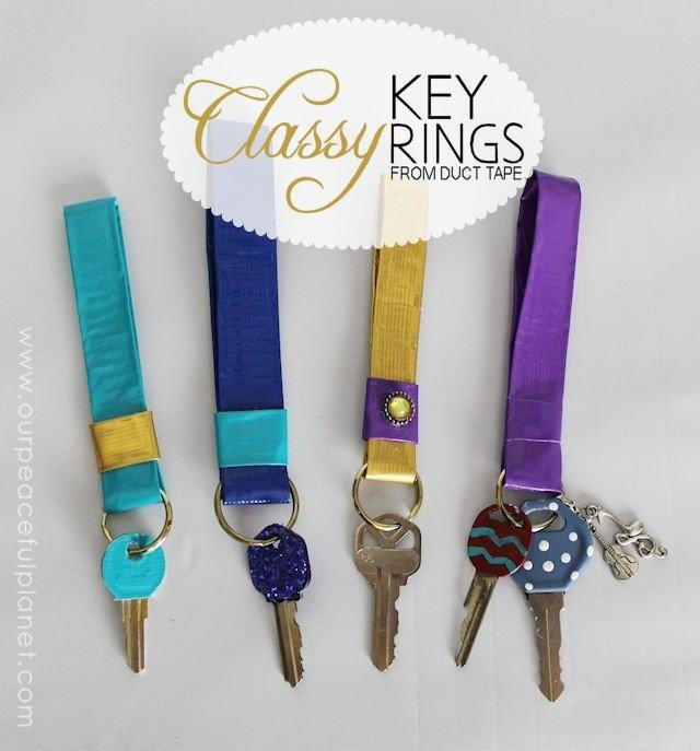 Classy Key Rings