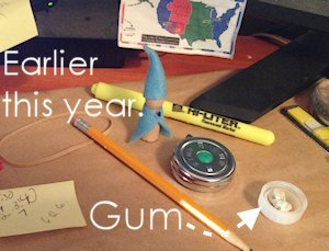 gum.on.desk