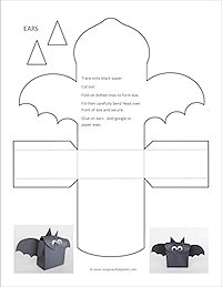 Batty Treat Box Easy Halloween Craft | Our Peaceful Planet