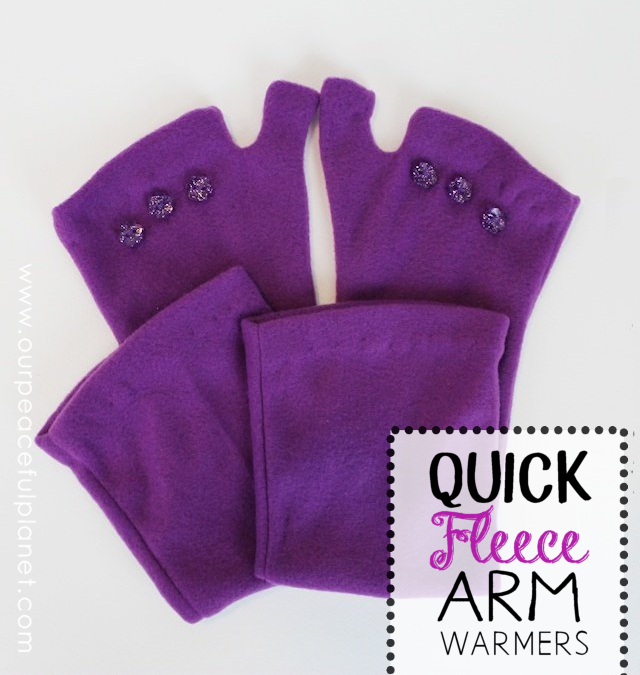 Quick Fleece Arm Warmers