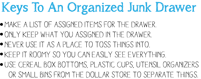 The Anatomy of a Well Organized Junk Drawer
