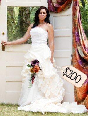 A 200 Dollar Wedding Dress